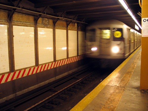 More than 4.3 million people ride the subway system every day in NYC, according to www.NY.com.