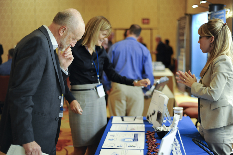 The Solutions Showcase gathered ERM service providers.