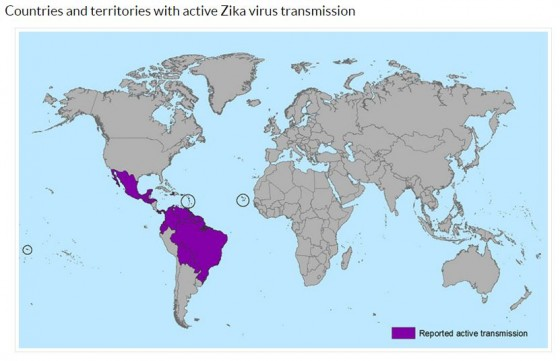 Zika countries