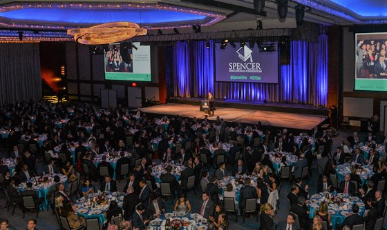 Paying it Forward: Industry Leaders Celebrate at Spencer Gala